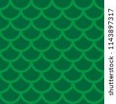 lizard  fish scales seamless... | Shutterstock .eps vector #1143897317