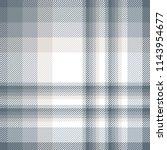plaid pattern in grayish blue ... | Shutterstock .eps vector #1143954677