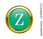 letter z capital letter classic ... | Shutterstock .eps vector #1143965711