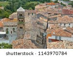 french ancient city in provence....   Shutterstock . vector #1143970784