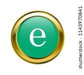 letter e lowercase letter... | Shutterstock .eps vector #1143970841