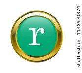 letter r lowercase letter... | Shutterstock .eps vector #1143970874