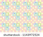 cute lamp seamless vector... | Shutterstock .eps vector #1143972524