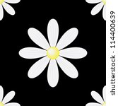 Daisy Seamless Background On A...