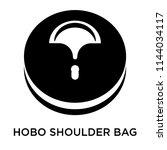 hobo shoulder bag icon vector... | Shutterstock .eps vector #1144034117