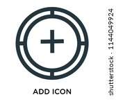 add icon vector isolated on...   Shutterstock .eps vector #1144049924