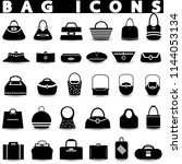 Bag Icons.shopping Icons Set