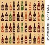 Beer Bottles Vector Collection...