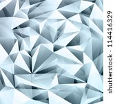 abstract crystal background... | Shutterstock .eps vector #114416329