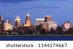 the buffalo  new york city... | Shutterstock . vector #1144174667