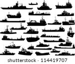 Set Of 30  Thirty  Silhouettes...