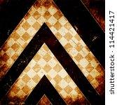 grunge squares background | Shutterstock . vector #114421417