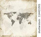 grunge background | Shutterstock . vector #114421501