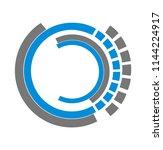ui modern web technology circle