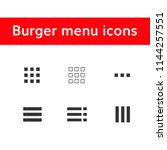 burger menu icons set ...