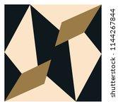 geometric scarf pattern | Shutterstock .eps vector #1144267844