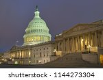 Stock photo united states capitol at night washington dc united states of america 1144273304
