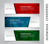 vector abstract design web... | Shutterstock .eps vector #1144335401