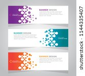 vector abstract design web... | Shutterstock .eps vector #1144335407