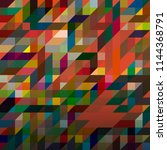 abstract color seamless pattern ... | Shutterstock . vector #1144368791