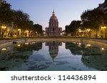les invalides  paris   Shutterstock . vector #114436894