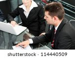 business people   team meeting... | Shutterstock . vector #114440509