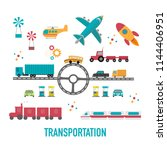 transportation icons.city...   Shutterstock .eps vector #1144406951
