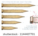 vector illustration of a... | Shutterstock .eps vector #1144407701