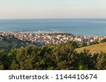 panoramic view of san benedetto ... | Shutterstock . vector #1144410674