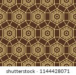 seamless geometric pattern....   Shutterstock . vector #1144428071