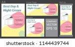 product description advertising ... | Shutterstock .eps vector #1144439744