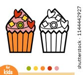 coloring book for children ... | Shutterstock .eps vector #1144442927