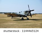 flying legends air show ... | Shutterstock . vector #1144465124