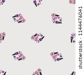 seamless pattern for nail art... | Shutterstock .eps vector #1144476041