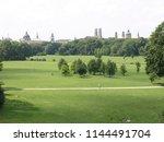 munich  english garden  germany ... | Shutterstock . vector #1144491704