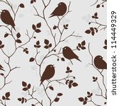 seamless pattern with... | Shutterstock .eps vector #114449329