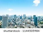 landscape of tokyo city | Shutterstock . vector #1144505984