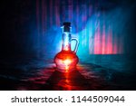 antique and vintage glass... | Shutterstock . vector #1144509044