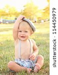 Baby  Toddler Boy Wearing...