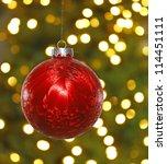 A Big Red Hanging Christmas...