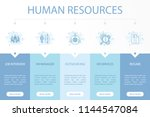 human resources web banner... | Shutterstock .eps vector #1144547084
