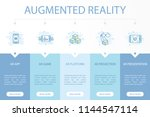 augmented reality web banner... | Shutterstock .eps vector #1144547114