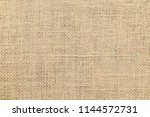 brown sackcloth or burlap... | Shutterstock . vector #1144572731