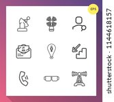 modern  simple vector icon set... | Shutterstock .eps vector #1144618157