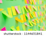 many reminders in business...   Shutterstock . vector #1144651841