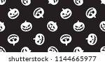 Pumpkin Halloween Seamless...