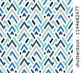 vector geometric seamless... | Shutterstock .eps vector #1144682477