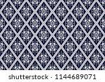 geometric ethnic pattern...   Shutterstock .eps vector #1144689071