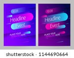 vector layout design template... | Shutterstock .eps vector #1144690664