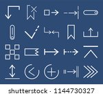 set of 20 icons such as play ...